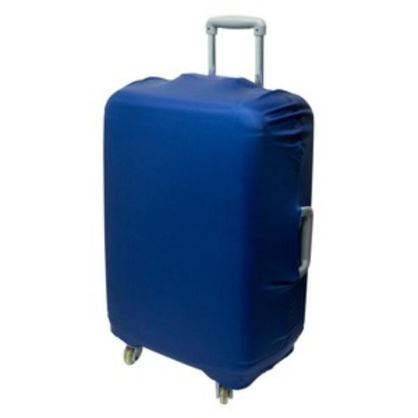 ミヨシ スーツケースカバー スタンダードカラータイプ MBZ-SCL3/NV ネイビー