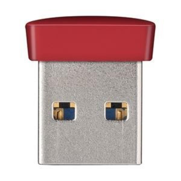 バッファロー USB3.0対応 マイクロUSBメモリー 8GB レッド RUF3-PS8G-RD