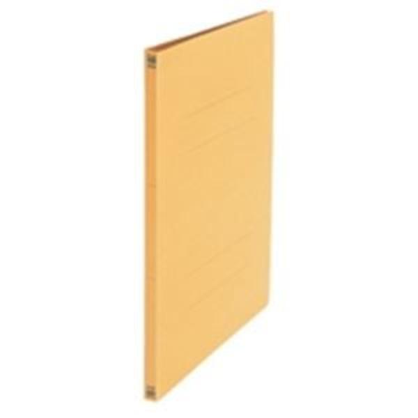 (業務用20セット) プラス フラットファイル/紙バインダー 【A3/2穴 10冊入り】 001N イエロー(黄) ×20セット