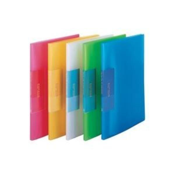 (業務用200セット) ビュートン 薄型クリアファイル/ポケットファイル 【A4】 10ポケット FCB-A4-10C 淡緑