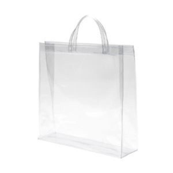 シモジマ 透明バッグ 大 10枚入 006464010
