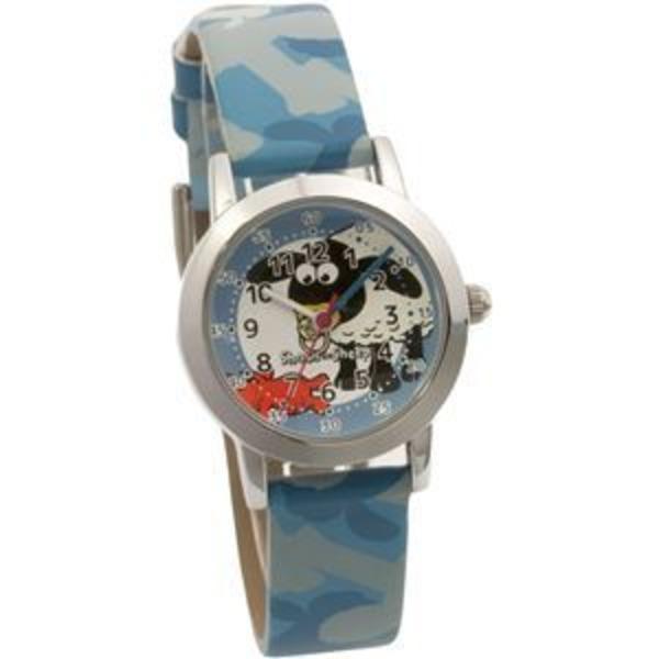 Shaun the Sheep(ひつじのショーン) キッズ腕時計 ティミーデザイン ガールズ/ボーイズ ブルー SS101-03