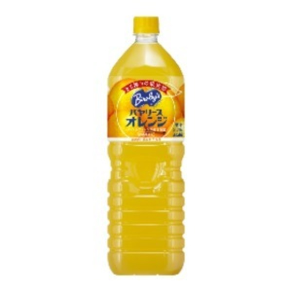 【まとめ買い】アサヒ バヤリース オレンジ ペットボトル 1.5L×8本(1ケース)