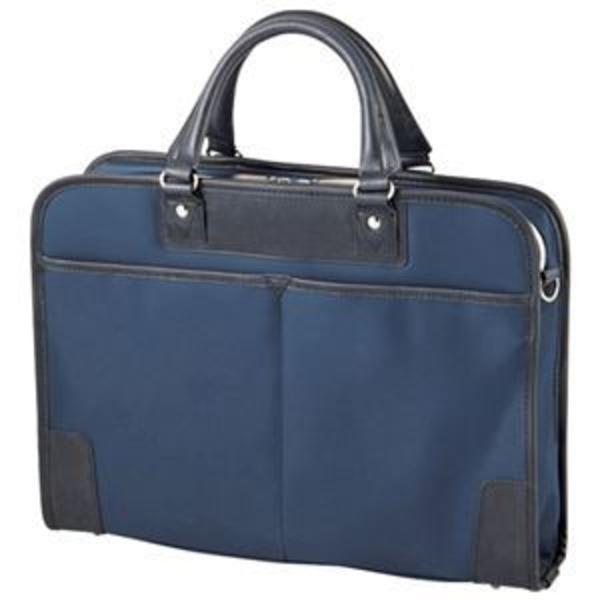 エレコム ビジネスバッグ BM-OR03NV ネイビー