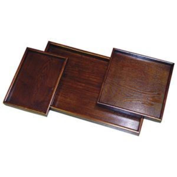 丸十 木製盆 スリーセット 783631