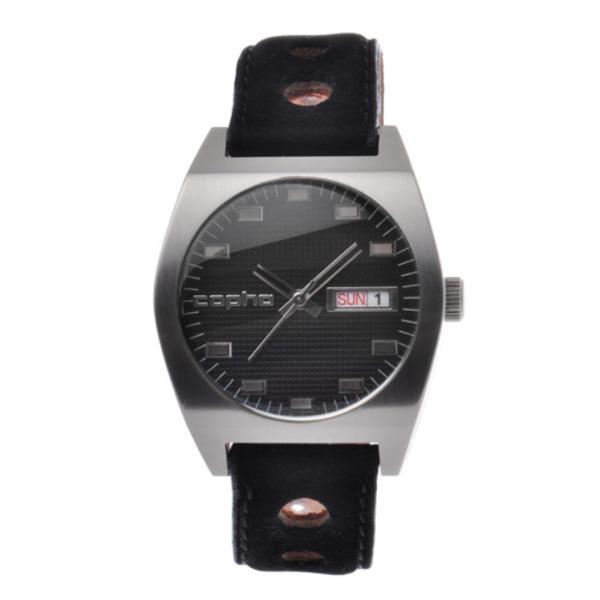 【北欧デザイン腕時計】 Copha コプハ Kult Rally Strap Black×Black カルト ラリーストラップ ブラック×ブラック