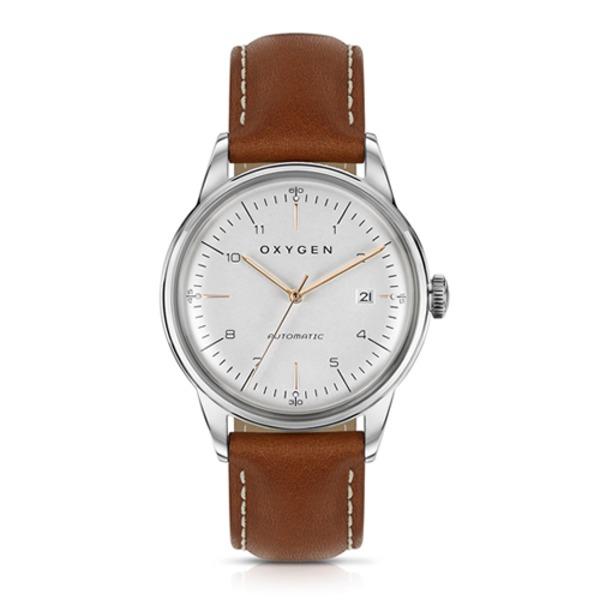 【フランス腕時計】 OXYGEN オキシゲン CITY LEGEND 40 AUTOMATIC MARIO シティー レジェンド 40 オートマチック マリオ 正規代理店商品