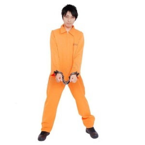 【コスプレ】Patymo 囚人服 オレンジ