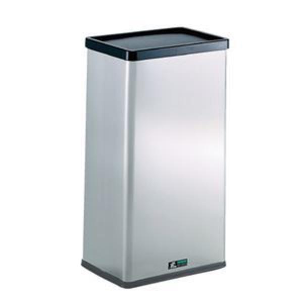 テラモト ゴミ箱 ステンターンボックス 23L