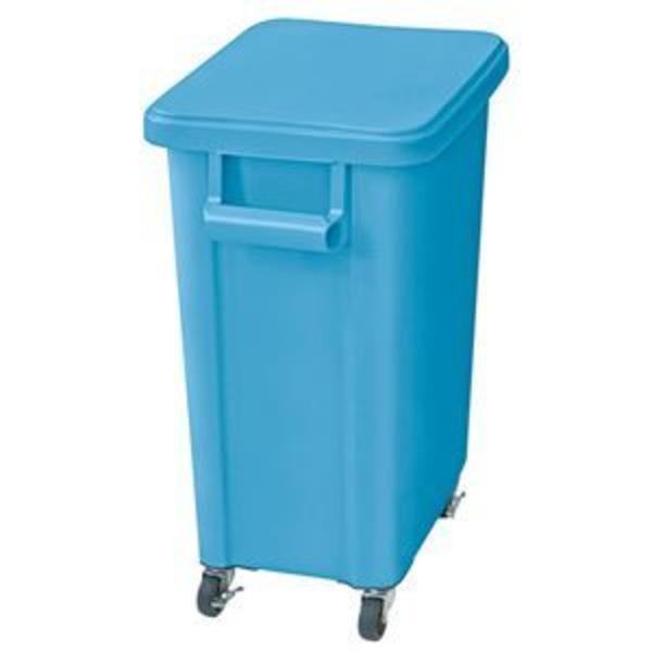 リス 厨房用キャスターペールGGYK006 70L ブルー