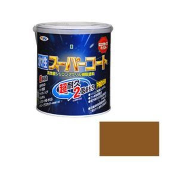 アサヒペン AP 水性スーパーコート 1.6L ソフトオーカー