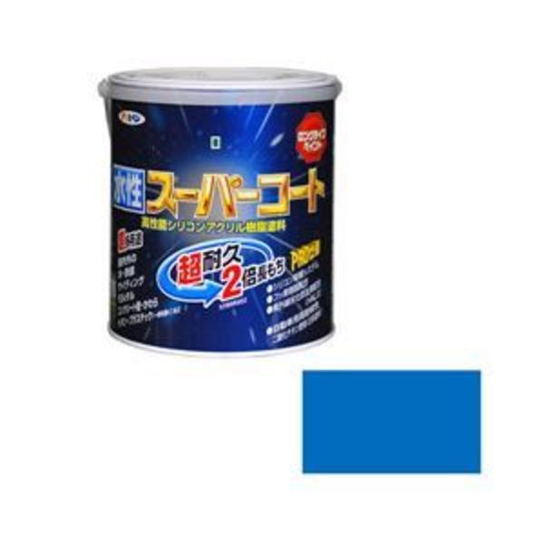アサヒペン AP 水性スーパーコート 1.6L 空色