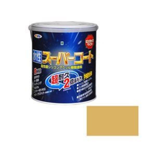 アサヒペン AP 水性スーパーコート 1.6L ベージュ