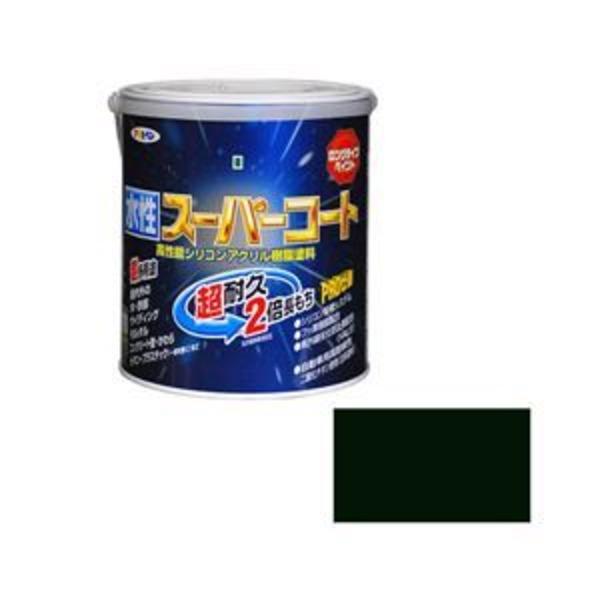 アサヒペン AP 水性スーパーコート 1.6L アイリッシュグリーン