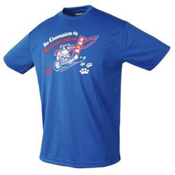 ヤサカ(Yasaka) 卓球アパレル NEO グラにゃんTシャツ(男女兼用) Y893 ブルー