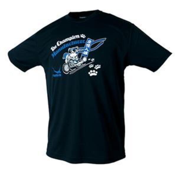 ヤサカ(Yasaka) 卓球アパレル NEO グラにゃんTシャツ(男女兼用) Y893 ブラック