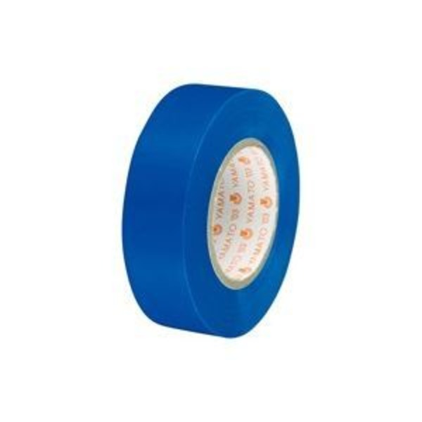 (業務用300セット) ヤマト ビニールテープ/粘着テープ 【19mm×10m/青】 NO200-19
