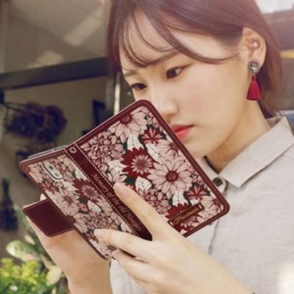 MrH(ミスターエイチ)スマホウォレットケース/ファーバー By iphone7
