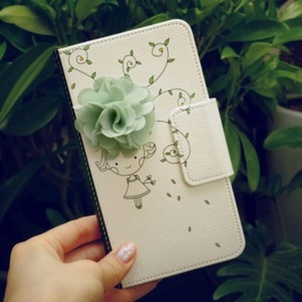 MrH(ミスターエイチ)スマホウォレットケース/花の香りByiphone7