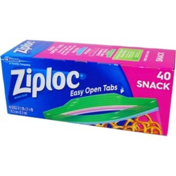 Ziploc スナックバック 40P 【3個セット】